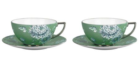 Wedgwood Jasper conran chinoiserie cup & saucer set of 2