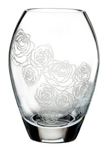 Waterford Sunday rose posy vase 4in