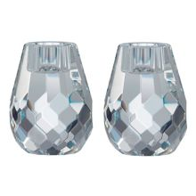 Royal Doulton Radiance Hex Candle Holders 8cm/3.1in S/2