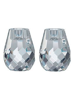 Radiance Hex Candle Holders 8cm/3.1in S/2