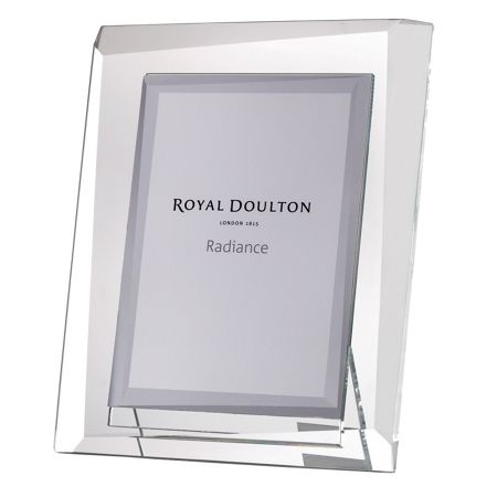 Royal Doulton Radiance Hex Picture Frame 5x7