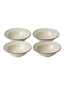 Gordon Ramsay Cream Small Bowls (x4)