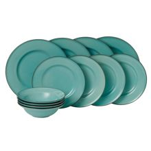 Royal Doulton Gordon Ramsay Teal Blue 12 Piece Set