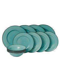 Gordon Ramsay Teal Blue 12 Piece Set