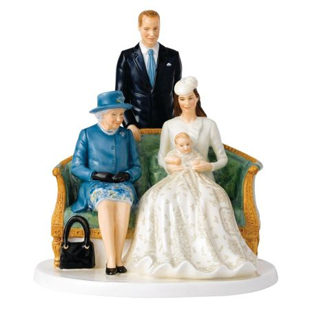 Royal Doulton Celebrating Queen at 90 Christening