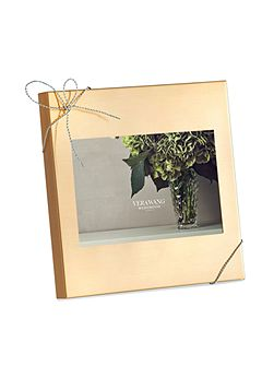 Vera Wang Love Knots Gold Photo Frame 4x6in
