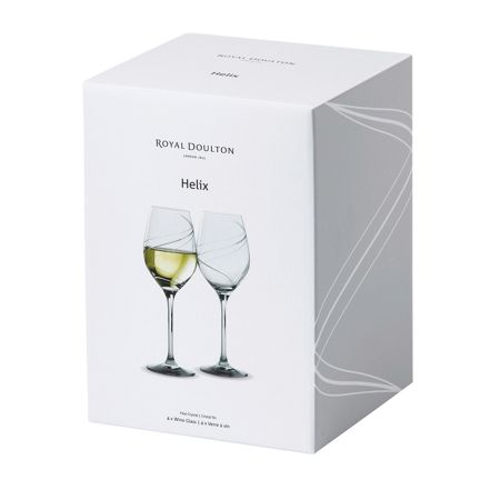 Royal Doulton Royal Doulton Helix White Wine 360ml Set/4