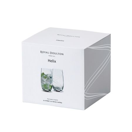 Royal Doulton Royal Doulton Helix Highball 350ml Set/4