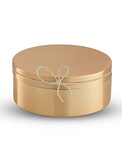 Vera Wang Love Knots Gold Covered Box