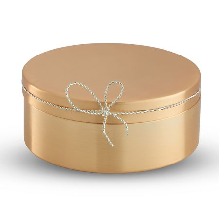 Wedgwood Vera Wang Love Knots Gold Covered Box