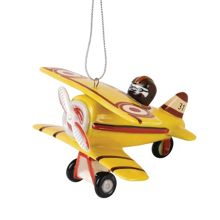 Royal Doulton Nostalgic Christmas Aeroplane Decoration