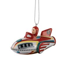 Royal Doulton Nostalgic Christmas Decorations Rocket