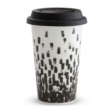 Wedgwood Vera Wang Print Check Travel Mug 12oz