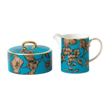 Wedgwood Vibrance cream and sugar set