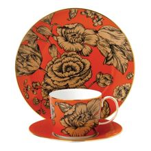 Wedgwood Vibrance 3-piece set orange