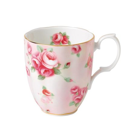 Royal Albert 100 years 1980 rose blush mug