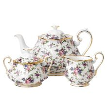 Royal Albert 100 years 1940 english chintz tea set