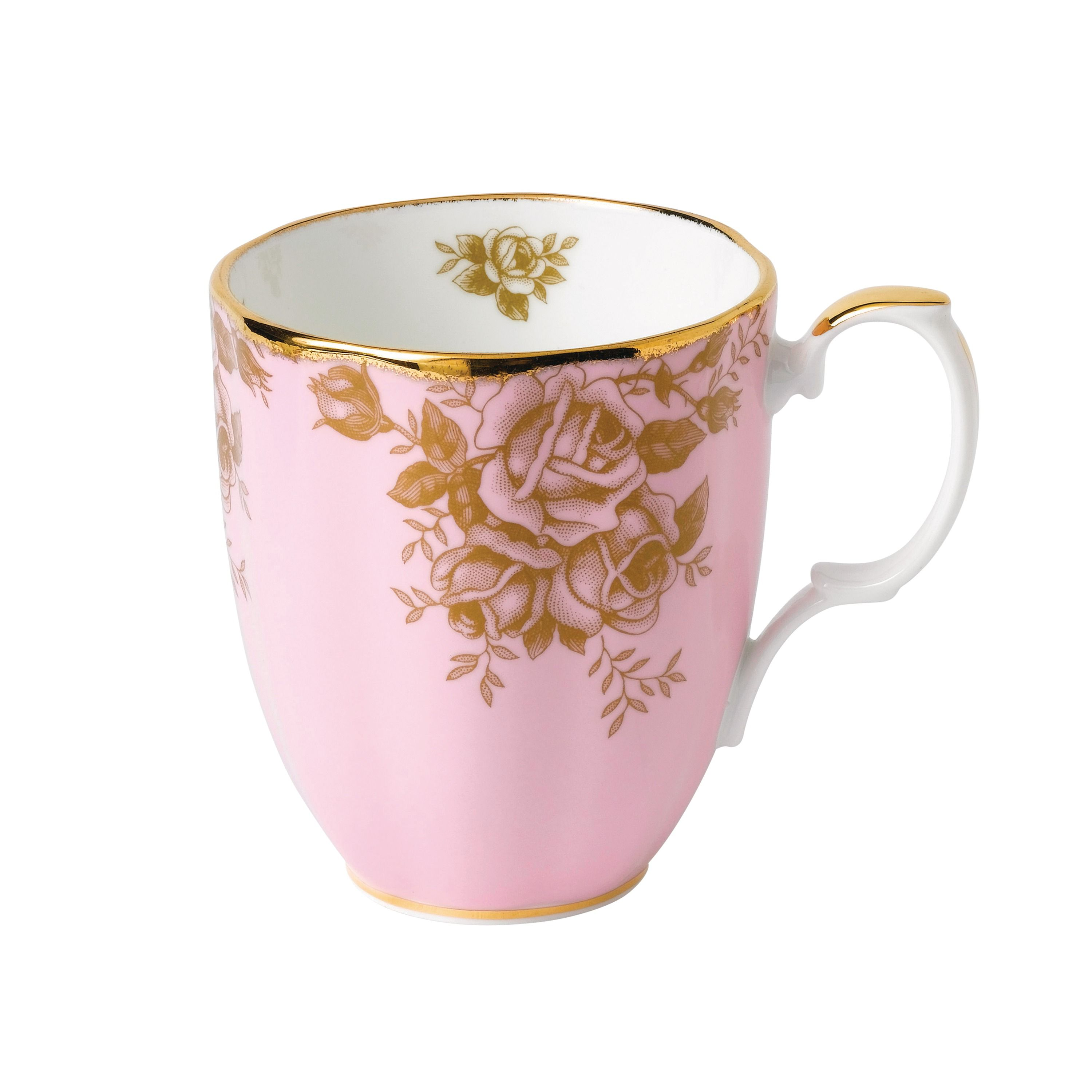 Royal Albert 100 years 1960 golden roses mug