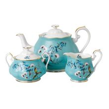 Royal Albert 100 years 1950 festival 3 piece tea set