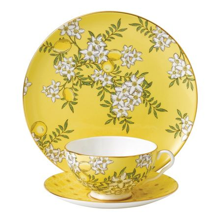 Wedgwood Tea garden lemon & ginger 3-piece set