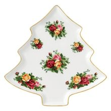 Royal Albert Old Country Roses Christmas Tree Tray