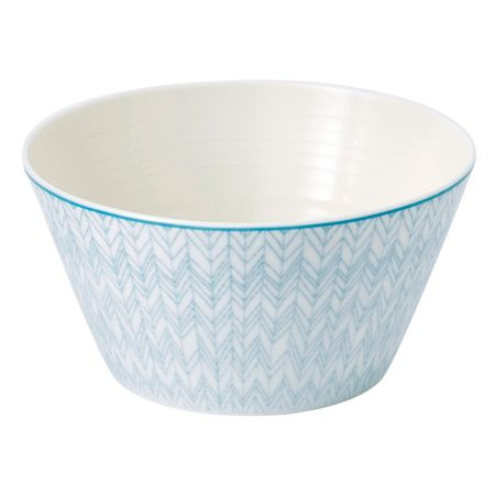 Royal Doulton Pastels cereal bowl 15cm, herringbone