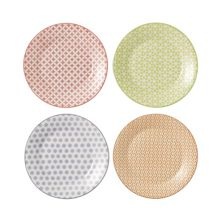 Royal Doulton Pastels accent plates 16cm - set of 4