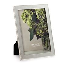 Wedgwood Vera wang with love nouveau silver photo frame 5x
