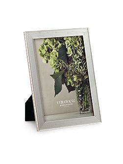 Vera wang with love nouveau silver photo frame