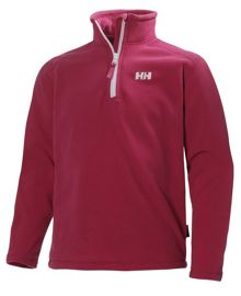 Helly Hansen Girls jr daybreaker 1/2 zip fleece