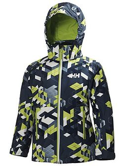 Boys jr domino print jacket