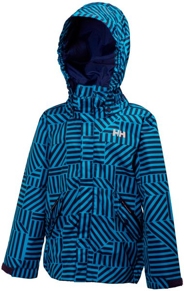 Helly Hansen Boys k jotun print jacket