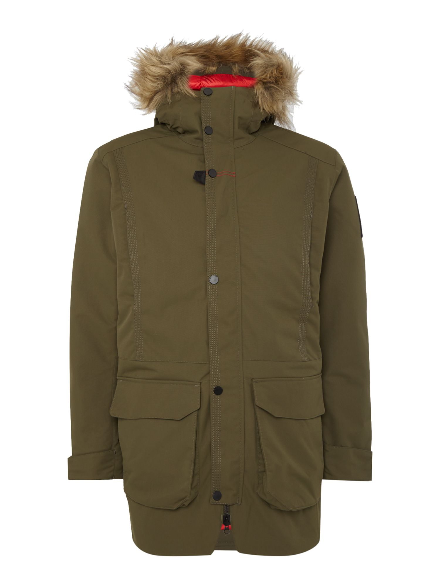 Mens Helly Hansen Norse Parka Olive
