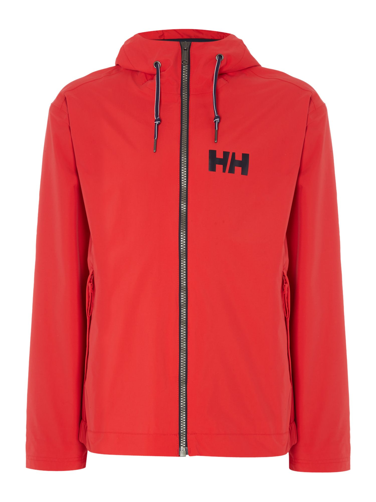 Mens Helly Hansen Marstrand Rain Jacket Red