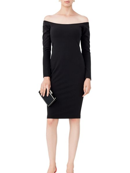 MAIOCCI Collection Bodycon Off-The-Shoulder Dress