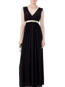 MAIOCCI Collection V-Neck Maxi Dress