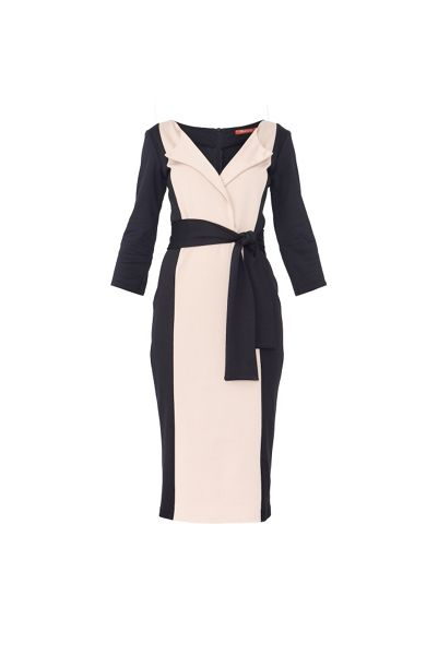 MAIOCCI Collection Classic Wrap Dress