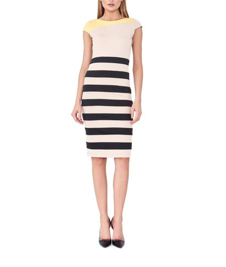 MAIOCCI Collection Striped T-shirt Dress