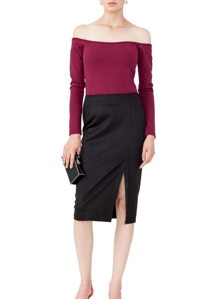 MAIOCCI Collection Off Shoulder Stretch Top
