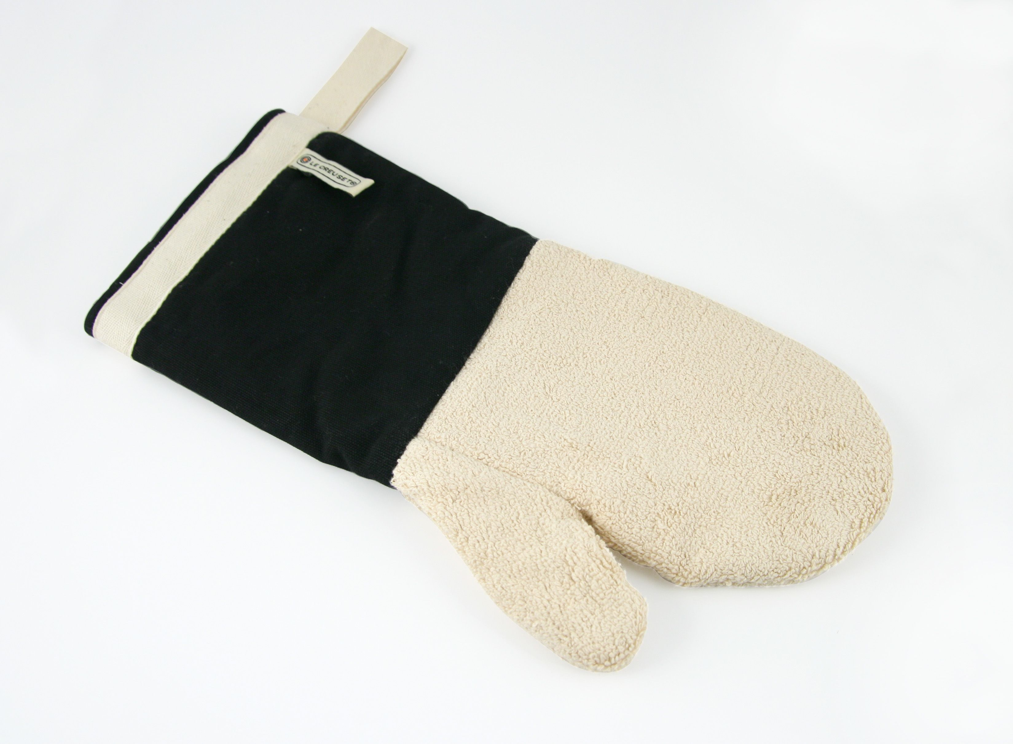 Image of Le Creuset 14 Oven Mitt Black