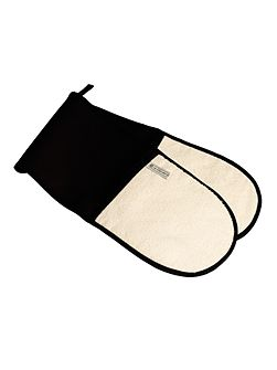 Double Oven Glove Black
