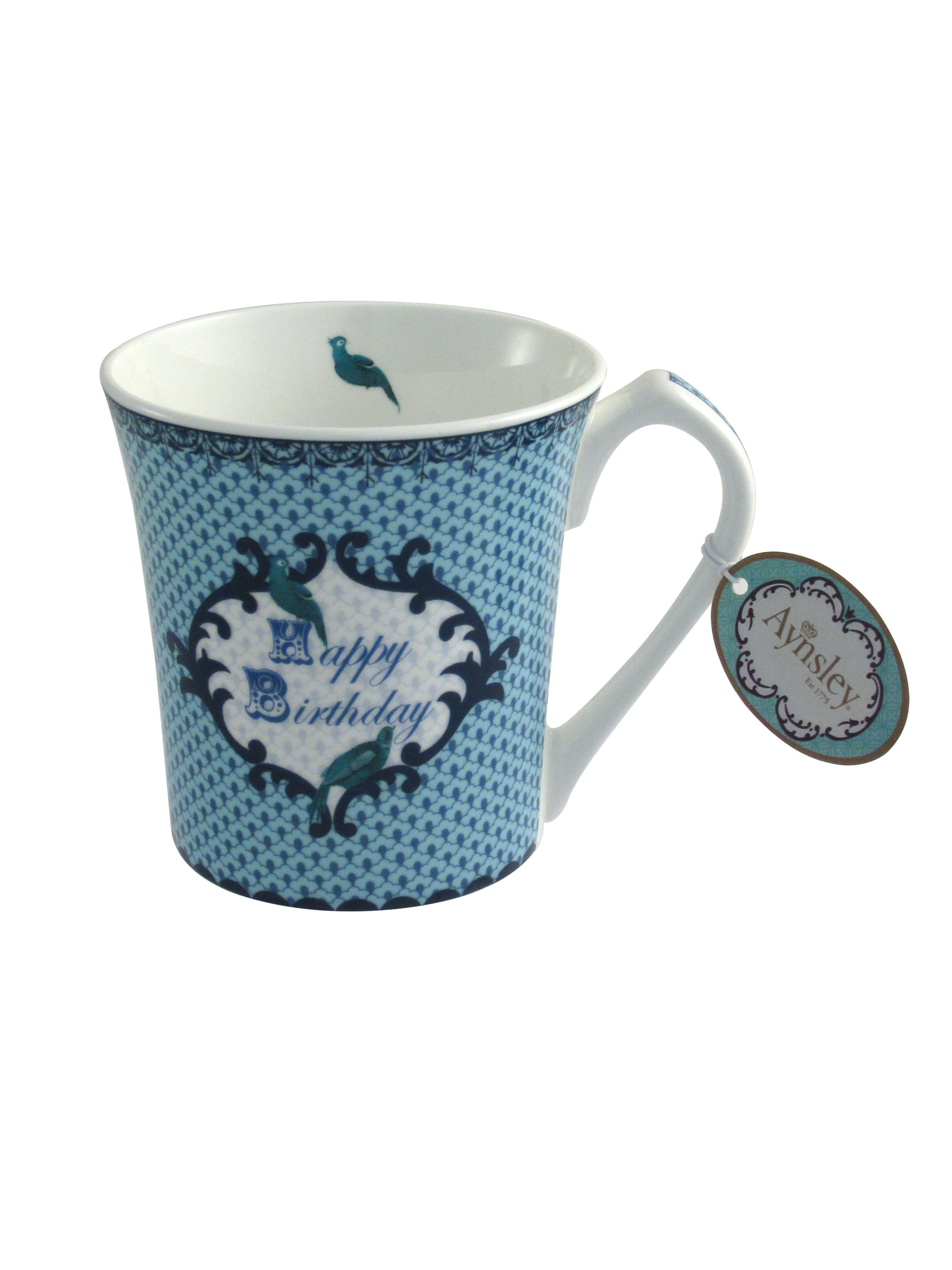 Loved one Birthday blue mug