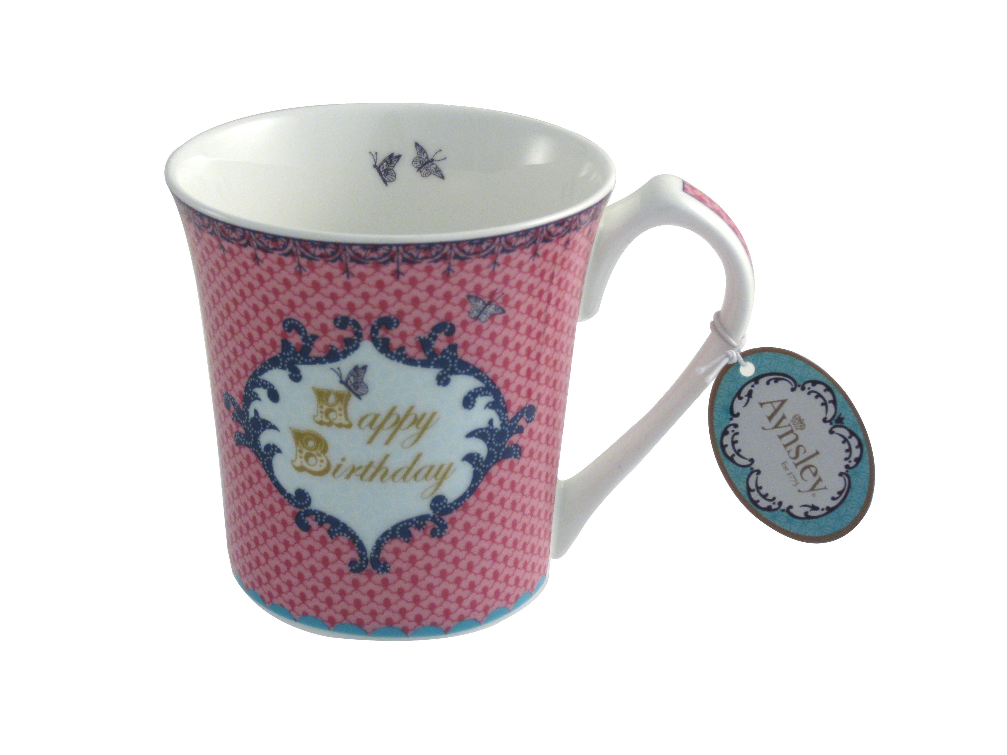 Loved one Birthday pink mug