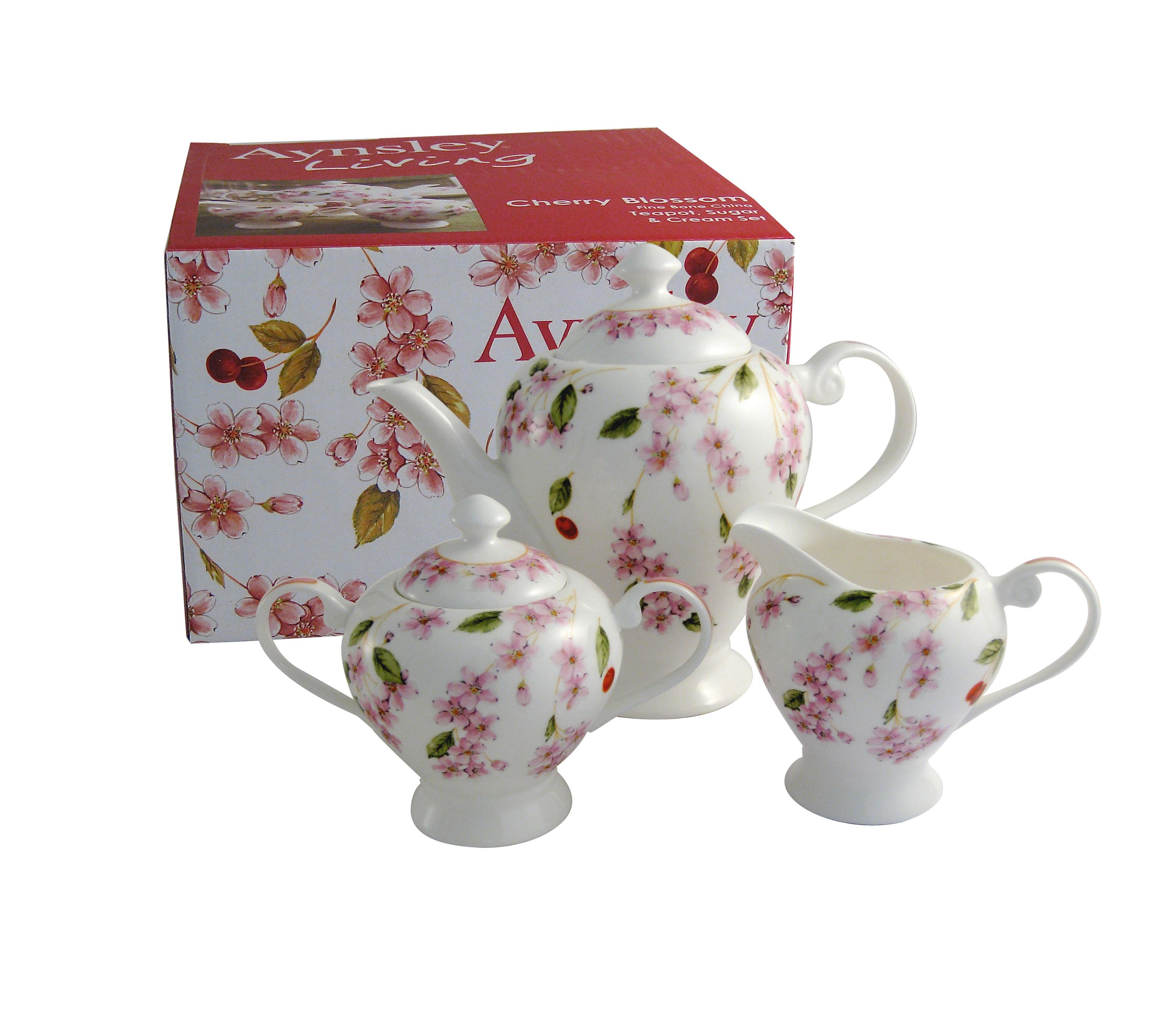 Cherry Blossom beverage set