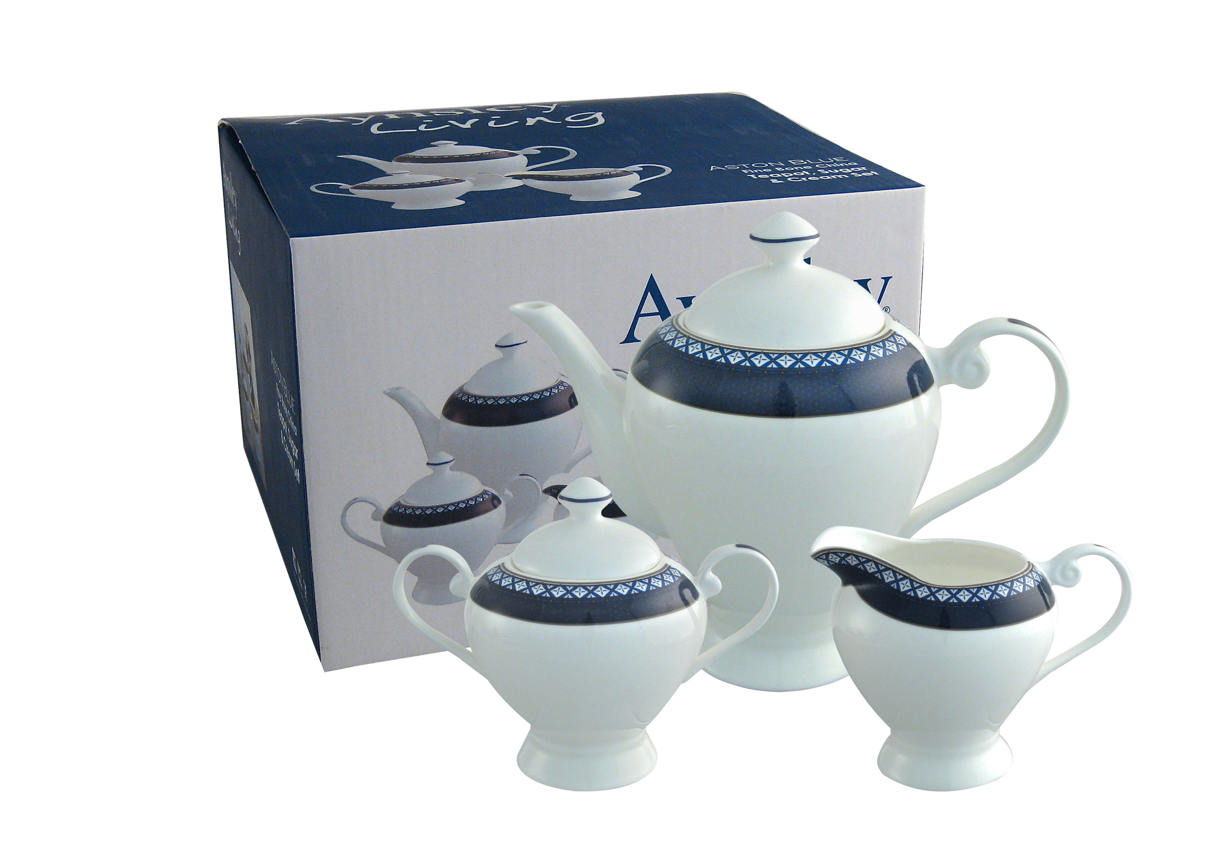 Aston Blue beverage set