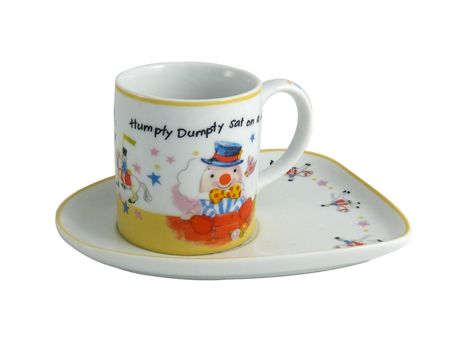 Aynsley Humpty Dumpty milk and biscuit tray