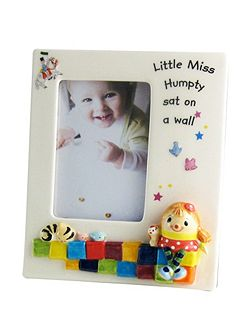 Miss Humpty photo frame