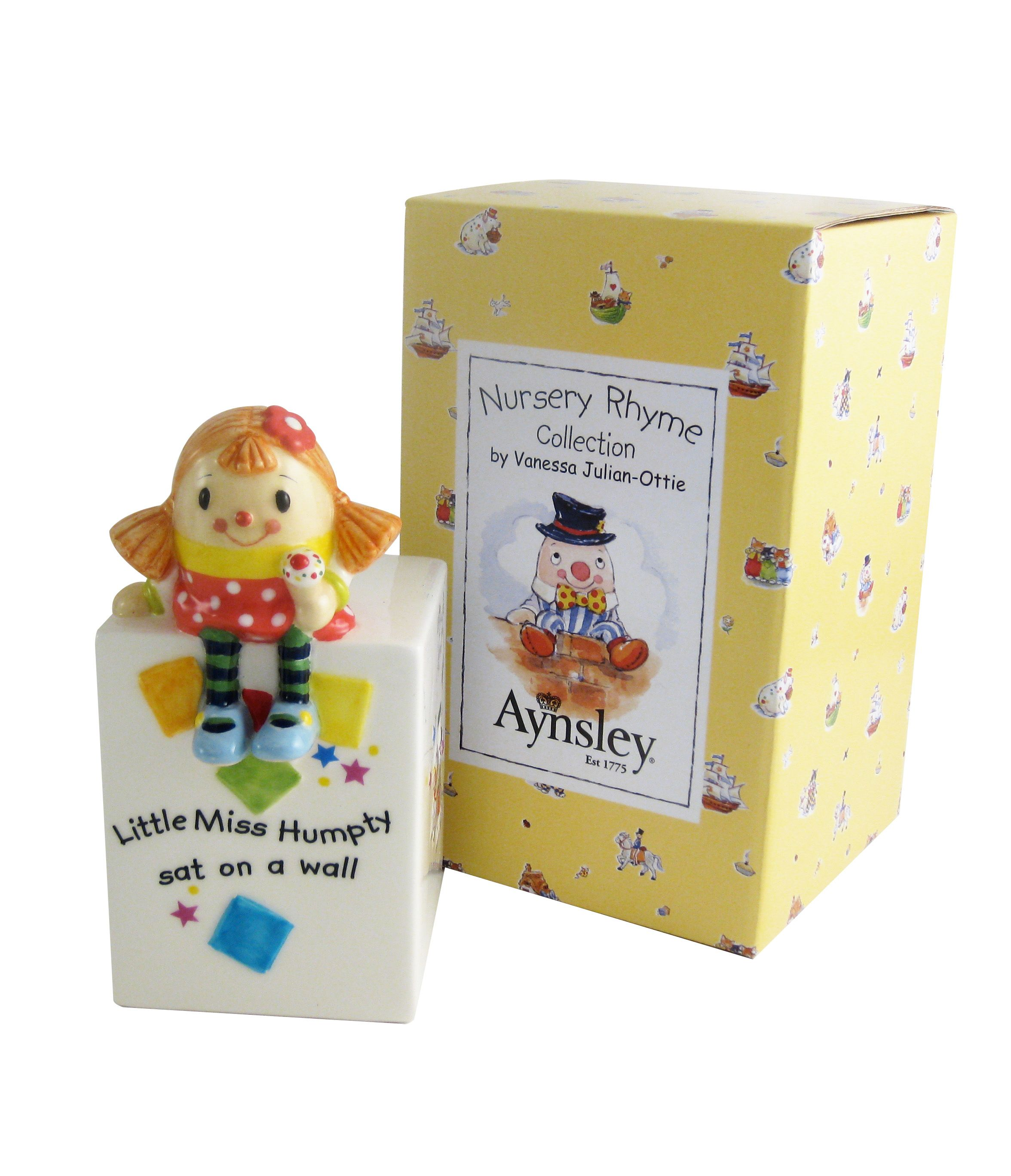 Aynsley Aynsley Miss Humpty money box