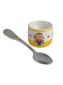 Miss Humpty eggcup and spoon