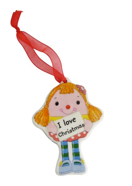 Aynsley Miss Humpty hanging ornament
